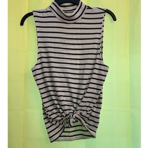 Turtleneck Tank From Abercrombie & Fitch- Size M